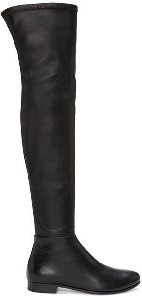 Jimmy Choo tall boots boots black shoes