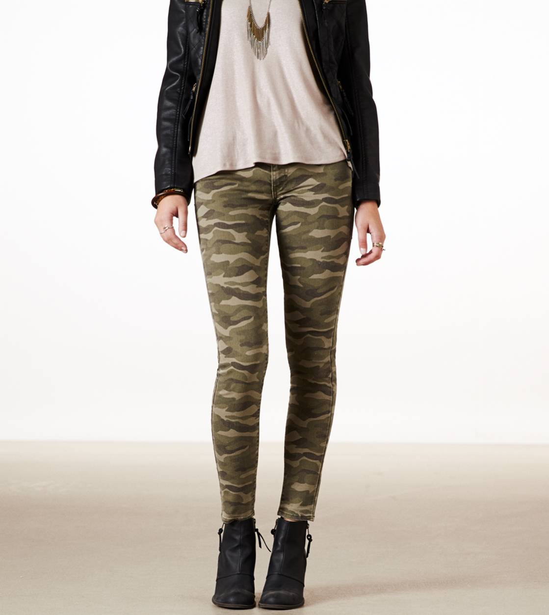Ae Camo Jegging Ankle American Eagle Outfitters