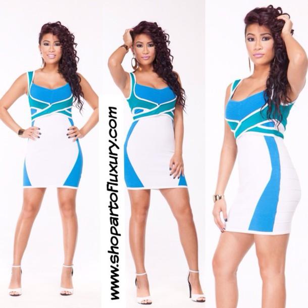 dress bodycon dress sexy party dresses kim kardashian