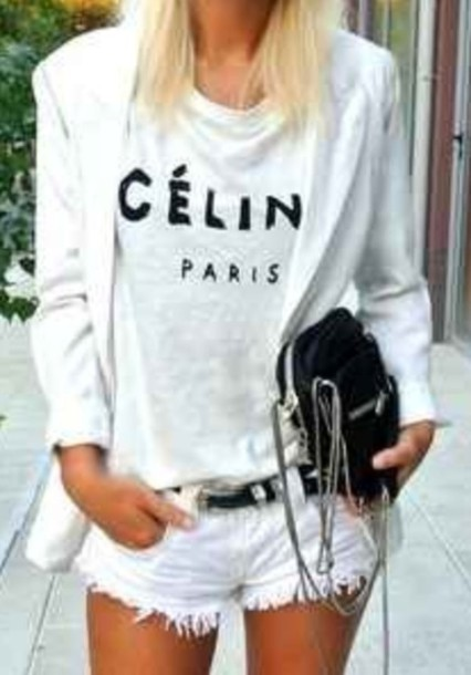shirt celine paris celine paris shirt
