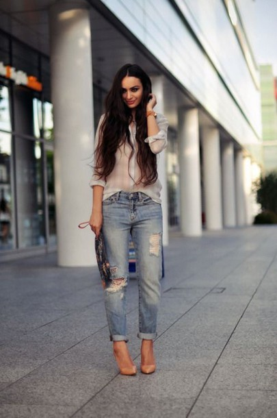 jeans love cute pretty shirt