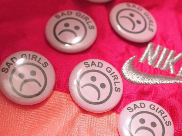 jewels pins buttons sadgirls sad nike