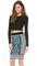 Torn by ronny kobo oli crop top
