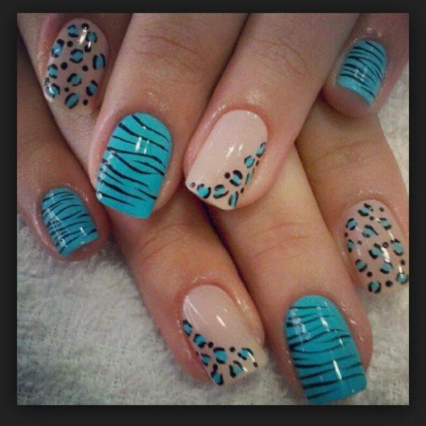 nail polish blue nail polish