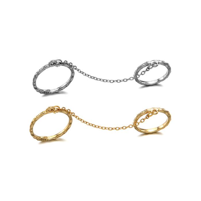 Linked rings set/ back order – holypink