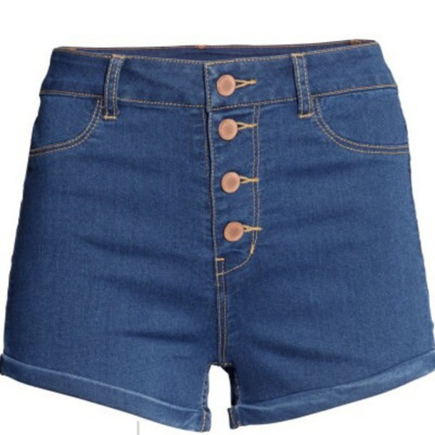 Shorts: high waisted shorts, high waisted denim shorts, h and m ...