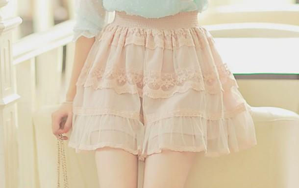 shirt skirt lace