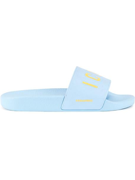 Dsquared2 women blue shoes