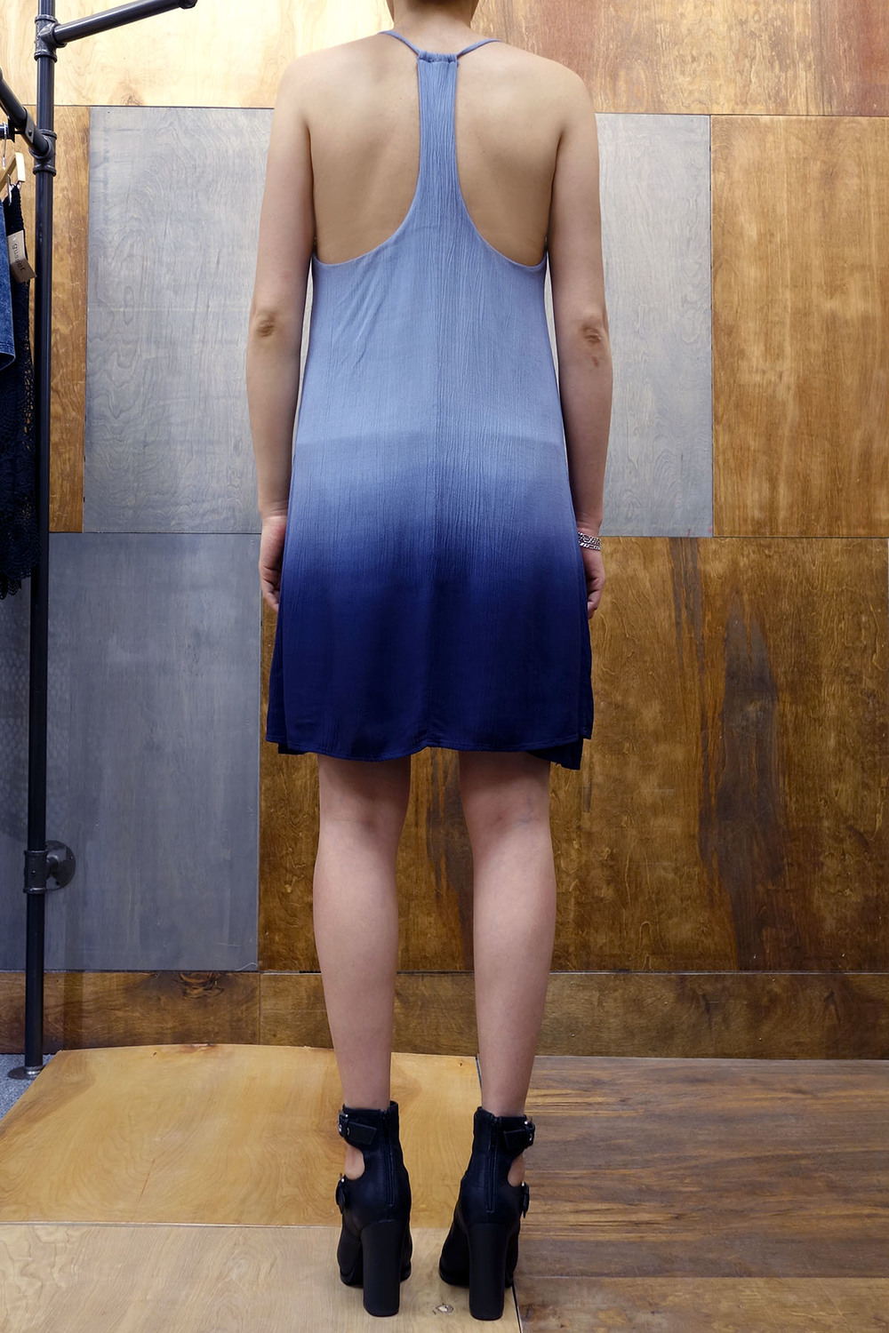 Double layer long tank top dress — the room nyc