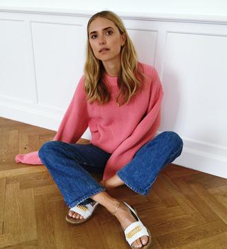look de pernille blogger jeans levi's