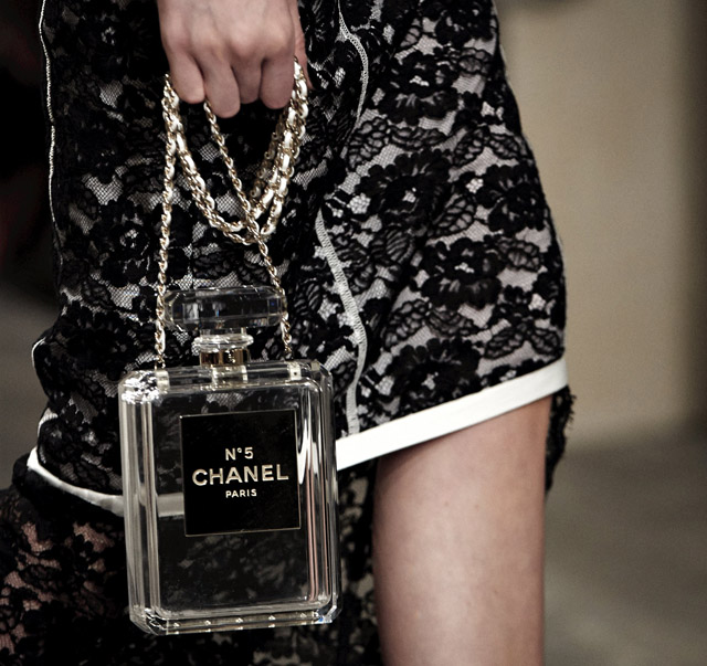 d078bee2979a Latest Obsession: The Chanel No. 5 Perfume Bottle Clutch - PurseBlog