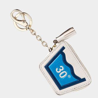 bag bag charm leather coin purse laundry keychain