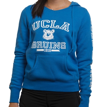 UCLA Women's Open Letter Joe Hoodie - Blue