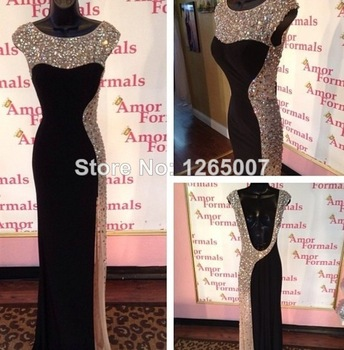 Aliexpress.com : Buy 2014 Sweetheart Cap Sleeves Ruffles Appliques Beaded Elegant Champagne Mermaid Evening Dresses New Fashion from Reliable dresses philadelphia suppliers on SFBridal