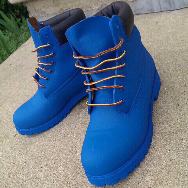 shoes timberlands timberland boots gold chain blue boots blue tims timberland blue blue tmberland smuf blue