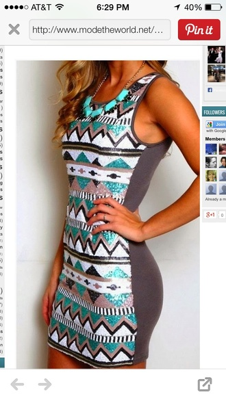 dress bodycon dress sequins sea of shoes sequin dress turquoise