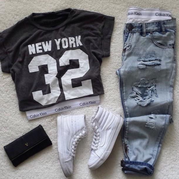 pants shirt t-shirt
