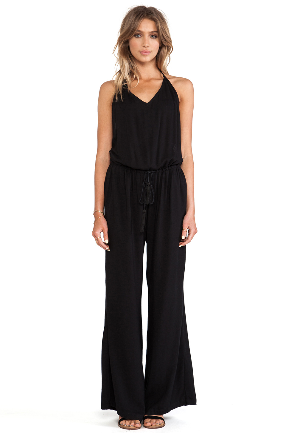 Cleobella Willow Jumpsuit in Black from REVOLVEclothing.com