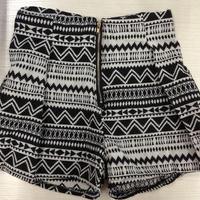 Tribal print zipper shorts · mir · online store powered by storenvy