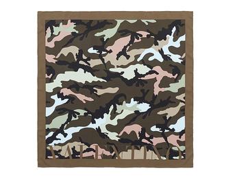 scarf valentino designer silk scarf print printed scarf camouflage