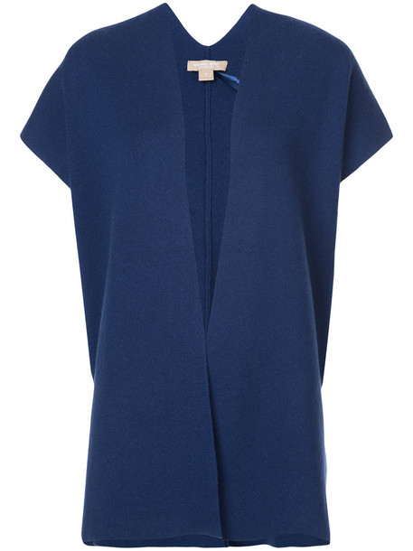 Michael Kors cardigan cardigan sleeveless women blue sweater