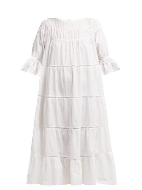 dress white cotton