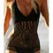 Boho eyelet one piece swimsuit – dream closet couture
