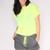 Workout Shorts - Neon Yellow | Obsezz