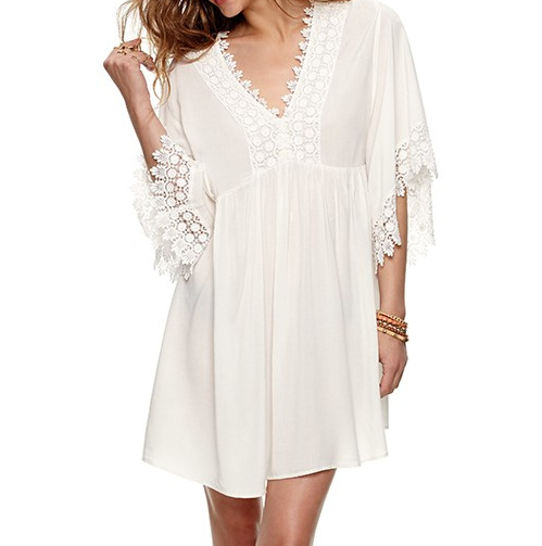 Summer beauty white lace dress · fashion struck · online store powered by storenvy
