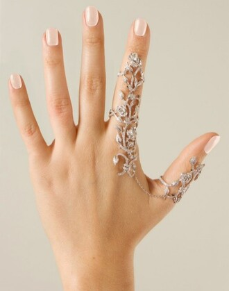 jewels ring prom jewelry knuckle ring rings and tings bling hand jewelry