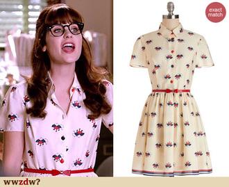 blogger dress retro new girl