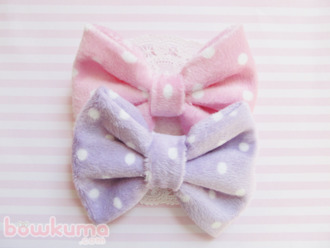 hat lilac soft pastel pink accessories kawaii bows hair bow hair accessories pink pastel polka dots
