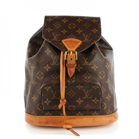 00c48c7253b4 LOUIS VUITTON Vintage Monogram Montsouris MM Backpack
