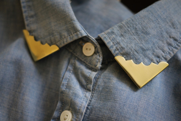 jewels collar collartips vintage