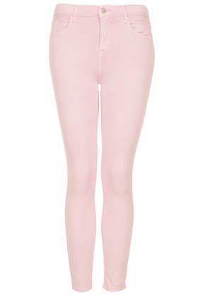 Pastellrosa MOTO Leigh Jeans Tall-Größe - Topshop deutschsprachig