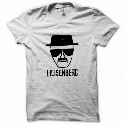 Tee shirt Breaking bad représentant Heisenberg noir/blanc