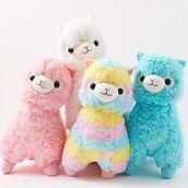 home accessory,twaimz,llama,stuffed animal,pastel,girly