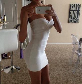 dress white dress short bodycon dress low rise mini
