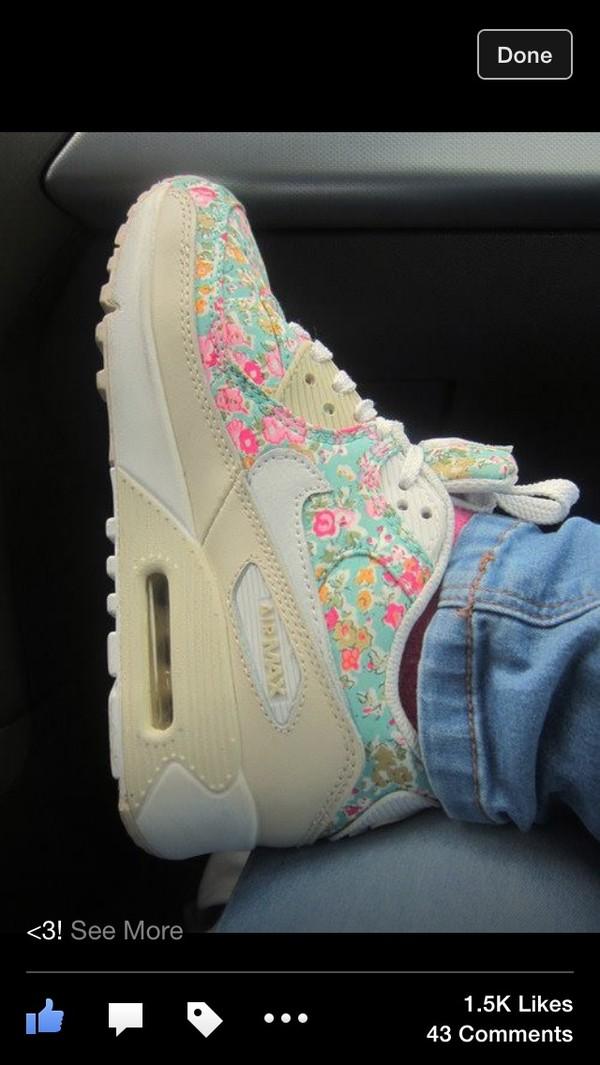 shoes floral air max air max