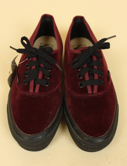 shoes vans sneakers vans sneakers tumblr velvet