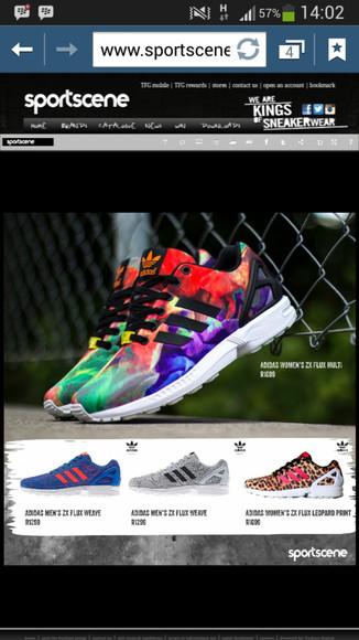 sneakers adidas multcoloured sportswear activewear