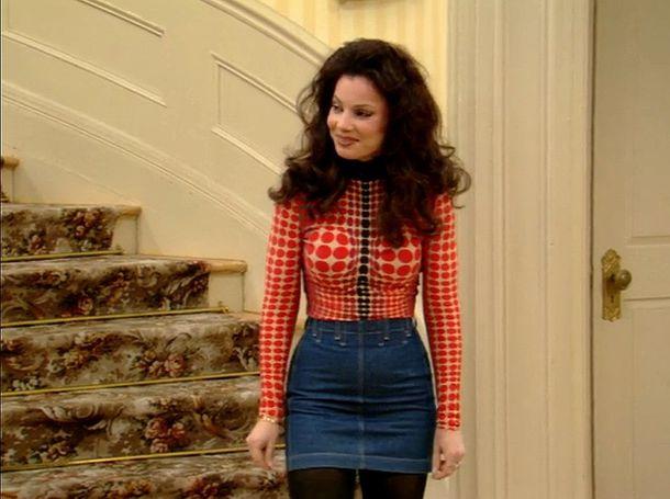 Top the nanny miss fine fran 90s show skirt 90s style 90u0026#39;s shirt 90u0026#39;s skirt 90s vintage ...