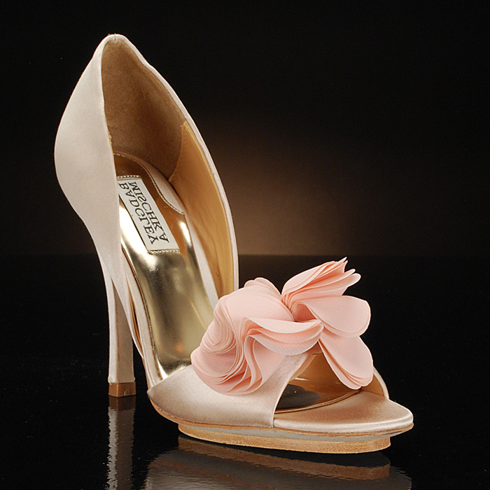 BADGLEY MISCHKA RANDALL Wedding Shoes and RANDALL Dyeable Bridal Shoes WHITE, SKY-BLUE, BLUE, VANILLA, PURPLE, PINK