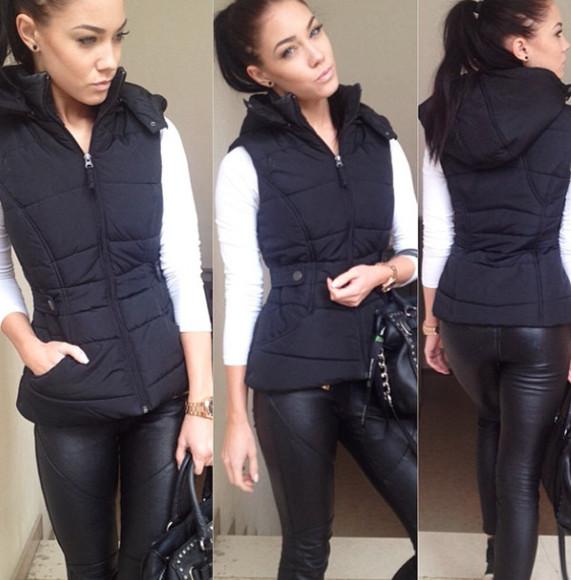 jacket black jacket black