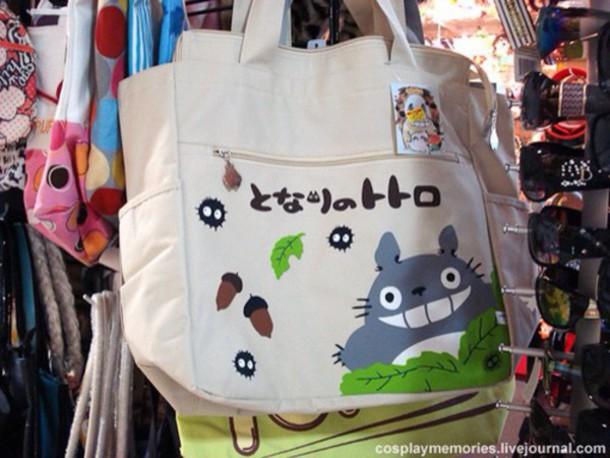 totoro tote bag bag