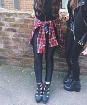 shoes,black,leather,sandals,tall shoes,Rebecca Black,jacket