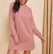 sweater,girly,girl,girly wishlist,pink,sweater dress,sweatshirt,sweatshirt dress,oversized sweater,oversized