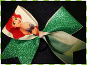 hair accessory,hair bow,disney princess,disney,the little mermaid,diy?