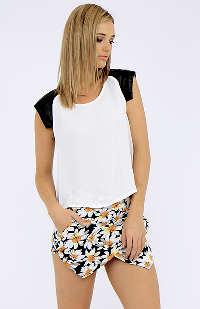 Pollen Skort - Floral | Back In Stock | Clothes | Peppermayo
