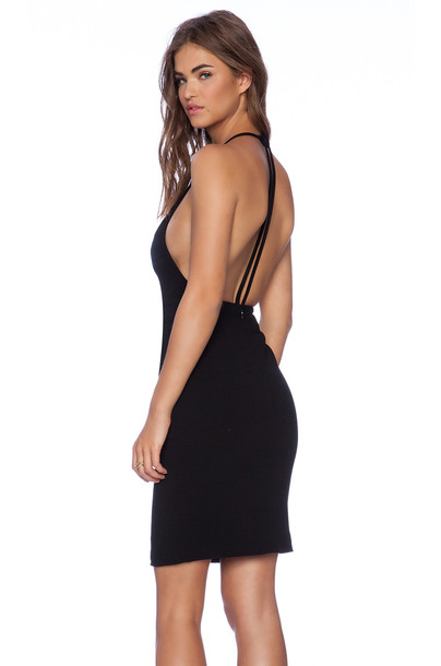 AQ/AQ dress mini dress mini black